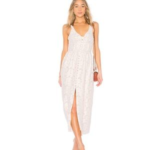 NEW Free People Fresh As A Daisy Maxi Dress